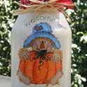 pumpkin jar ornament