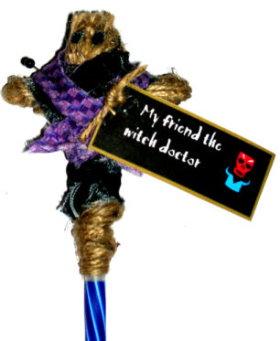 voodoo doll pen