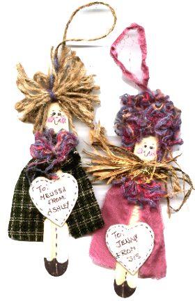 Jumbo Craft Stick Angels