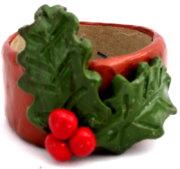 Polymer Clay – Holly Napkin Rings