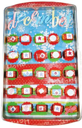 Magnetic Advent Calender