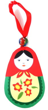 Matryoshka Russian Doll Ornament