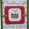 Christmas Card - Litte Red Ornament