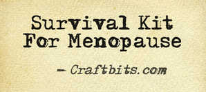 Funny Survival Kit For Menopause