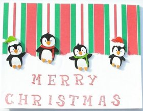 Christmas Card – Penguins
