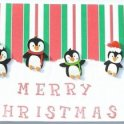 Christmas Card - Penguins