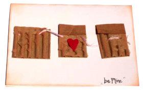 Valentines Card – Be Mine