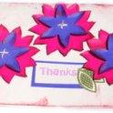 Cardmaking - Flower Thanks