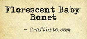 Florescent Baby Bonnet