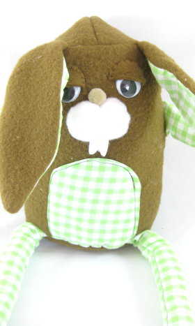 Gluttonous Bunny Soft Toy