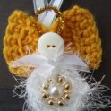 Crochet Button Angel