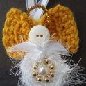 Crochet Button Angel