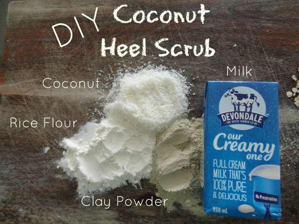 Coconut Heel Scrub