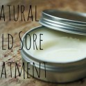 Natural Cold Sore Treatment