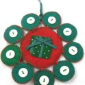 Tree Ornament: Snowflake Present