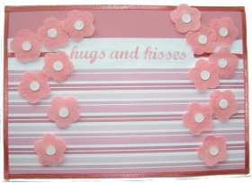 Cardmaking – Hugs And Kisses