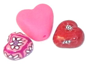 Polymer Clay: Puffy Valentine Hearts