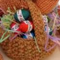 Knitted Easter Basket