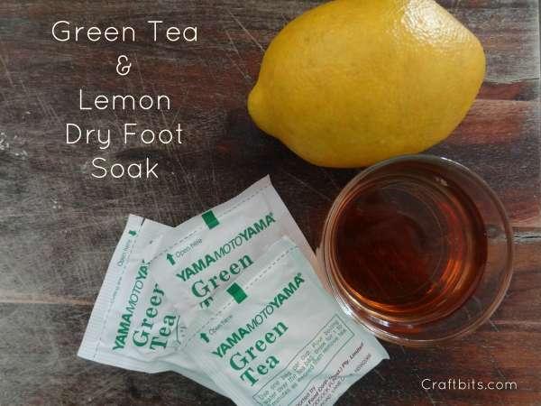 Green Tea Soft Foot Soak