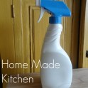 Home made all natural kitchen disinfectant