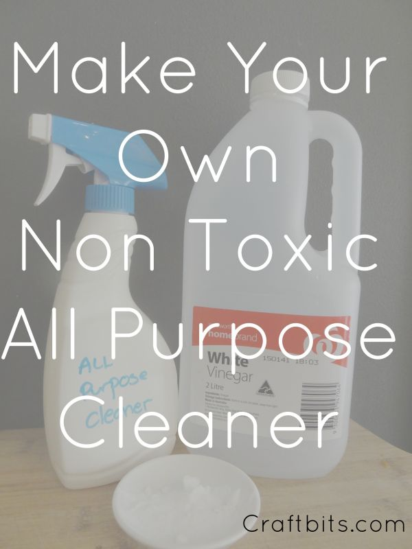 Non Toxic Bathroom All Purpose Cleaner Craftbits Com