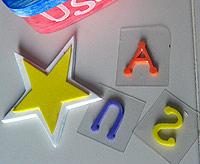 Patriotic USA Stamps