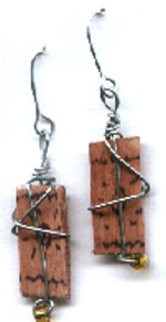 Craft Stick Earrings
