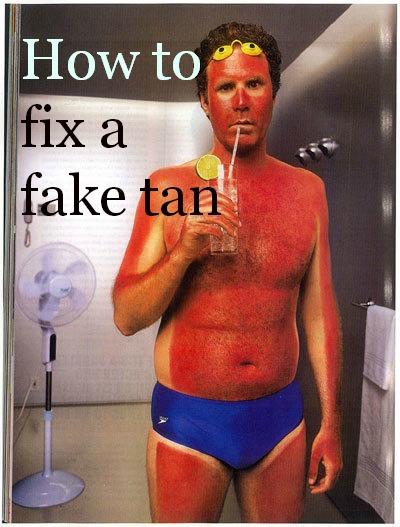 Bath Soak to remove Fake Tan