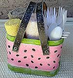Watermelon Picnic Caddy