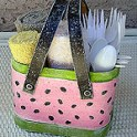 Watermelon Picnic Caddy
