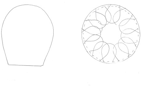 flower pillow pattern