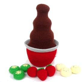 Amigurumi – Chocolate Fountain Crochet Pattern