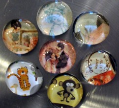 Craft Marble Magnets