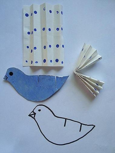 Paper Bird Pattern
