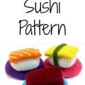 Sushi Crochet Pattern