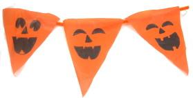 pumpkin halloween bunting