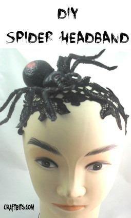 Halloween Spider Headband