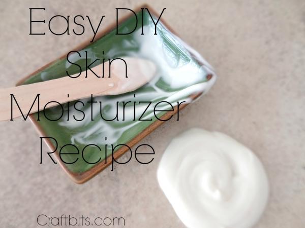 Skin Moisturiser Powdered Recipe
