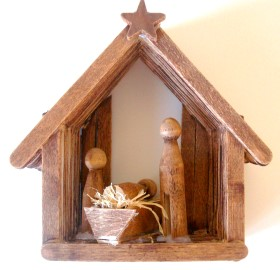 Craft Stick Christmas Nativity