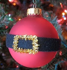 Tree Ornament – Santa's Belly Bauble
