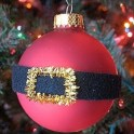 Tree Ornament - Santa's Belly Bauble