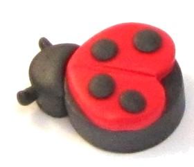 Polymer Clay – Valentines Day Love Bug