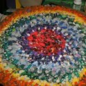 Rug made out of Rags