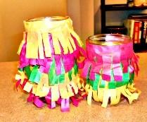 Shaggy Cinco Candle Lanterns