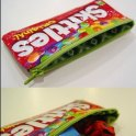 Recycled Skittles Pouch