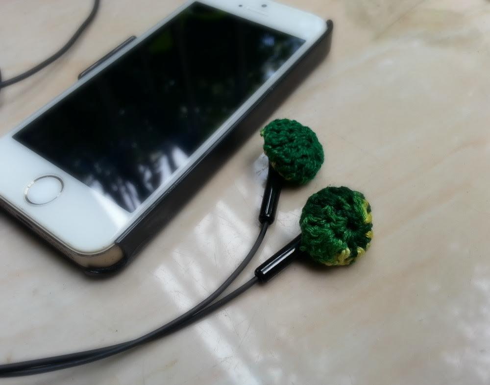 Crochet Headphone Covers