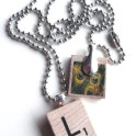 Recycled Scrabble Tile Pendant