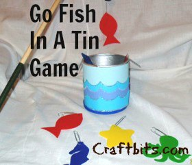 Go Fish In A Tin Game
