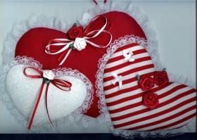 Lace Valentine Hearts