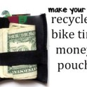 Money Pouch Made Of Recycled Tire Tube